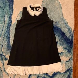 Nanette Lepore Black and White Lace Dress